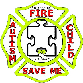 reflective autistic child rescue decal, autism alert, save my child, autism alert sticker, autism window sticker, autism inside, autism emergency decal, autistic child inside decal, autistic child finder, child with autism, autism rescue alert decal, firefighter decal, refelctive decal, reflective sticker, in case of fire, firefighter decal, fire department