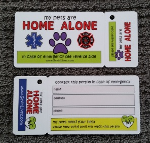 pet alert, pet card, save my pets, pet home alone, pets are home alone, my pets are home, savin livez, emergency contact, emergency wallet card, key fob, emergency key fob, emergency, contact this person in case of emergency, contact wallet card, wallet card with key fob, emergency wallet card with key fob