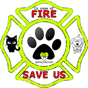 reflective dog and cat rescue decal, dog and cat alert, save my pets, dog and cat alert sticker, dog and cat window sticker, dogs and cats inside, dog and cat emergency decal, dog and cat inside decal, dog and cat finder, dog and cat rescue alert decal, firefighter decal, refelctive decal, reflective sticker, in case of fire, firefighter decal, fire department